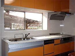 システムキッチンのリフォーム
