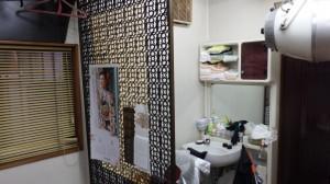 さくら美容室様 ついたて施工前写真