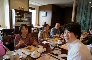 帝国ホテル サルーにて 上田様