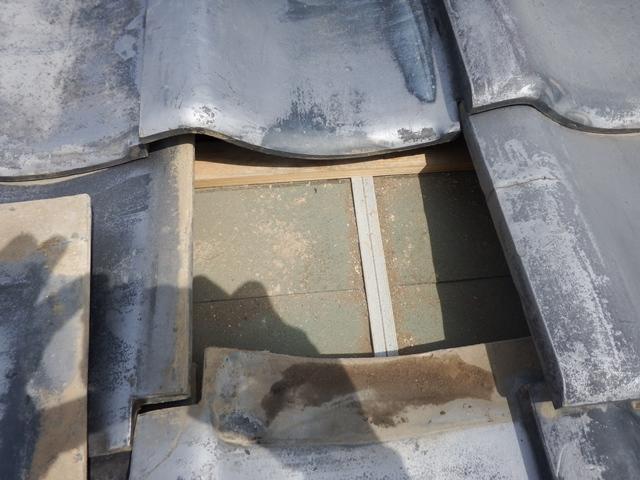 屋根現況 下地縮小