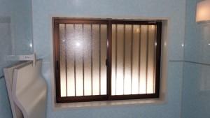 浴室窓交換完成