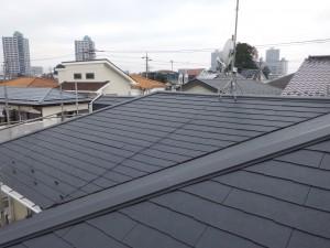 スレート屋根葺き替え完了