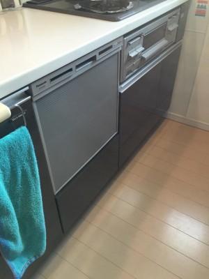 新しい食器洗い乾燥機