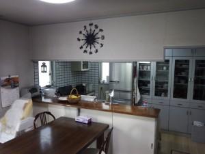 1居間~既存キッチン