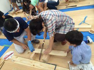 木工教室の様子