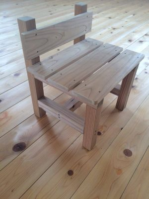 木工教室 いす