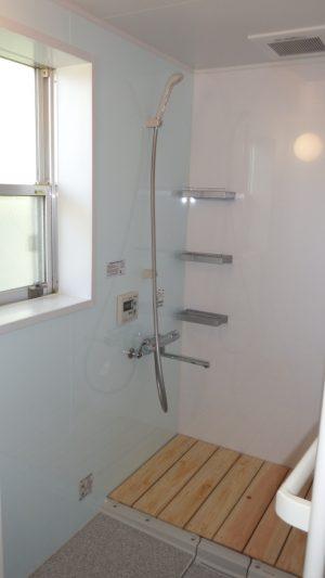 R様浴槽の無いシステムバス
