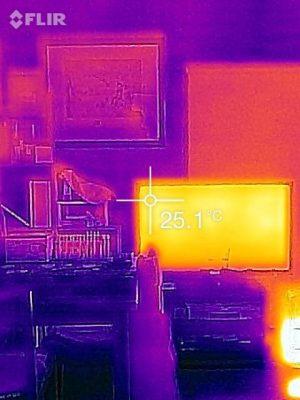 サーモ画像テレビ