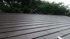 金属板屋根葺き替え完成