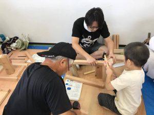 夏休み木工教室 木工教室ふじみ野