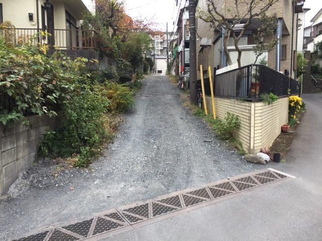 私道の舗装工事