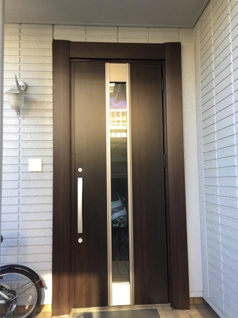 ふじみ野市 玄関ドア交換リフォーム