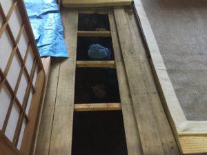 床下点検 シロアリ点検 浴室リフォーム 浴室リフォームふじみ野