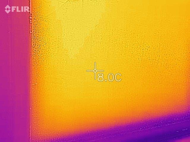 サーモグラフィー画像 温度差 結露 ふじみ野リフォーム リフォームふじみ野