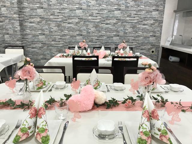 アンケート 料理教室 ふじみ野リフォーム リフォームふじみ野 テーブルコーディネート