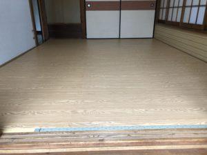 和室の床リフォーム ふじみ野