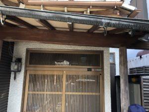 屋根が傾いた 屋根リフォーム